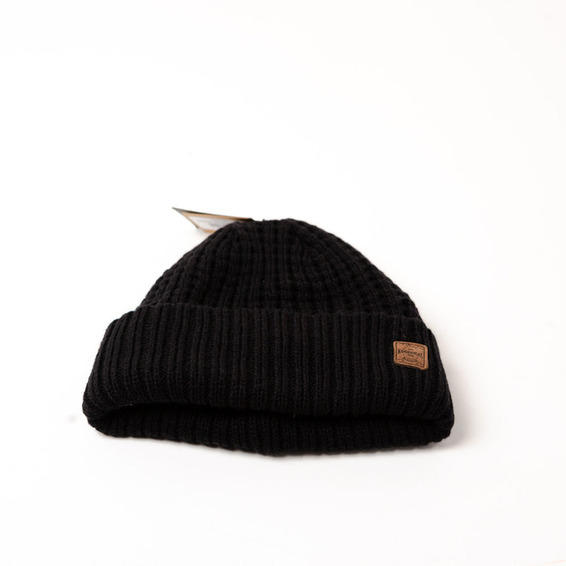 BEANIE SHADOW - BLACK