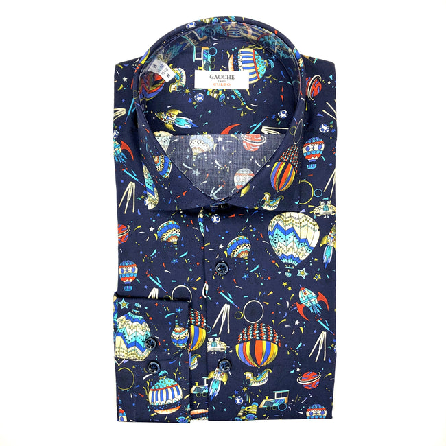 DRESS SHIRT - MONTGOLFIERE BLUE