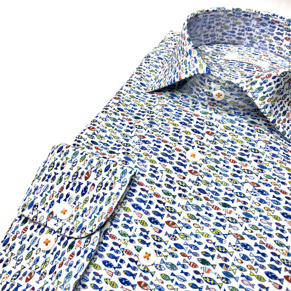 DRESS SHIRT - FISH