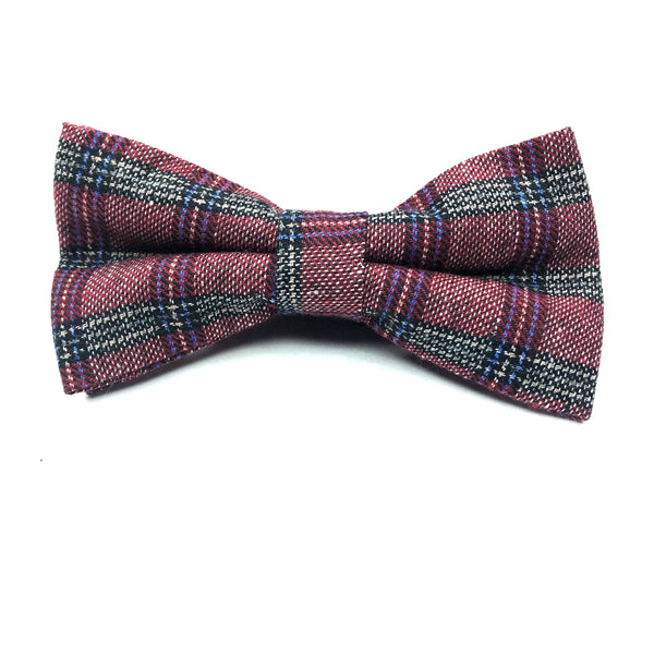BOW TIES - RED PLAID