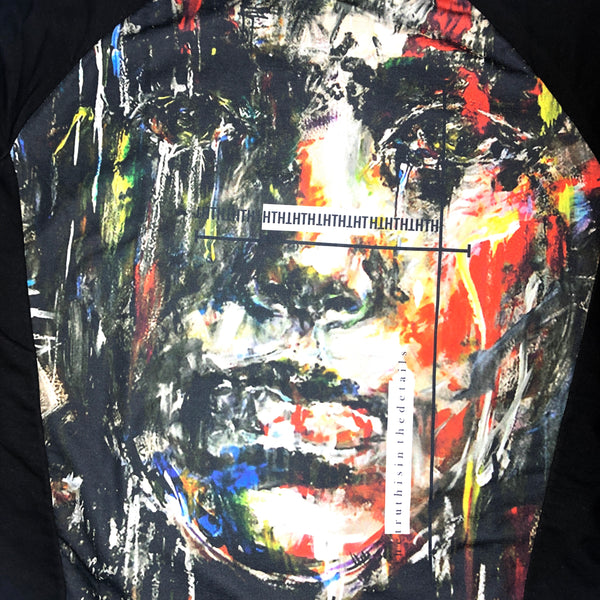 SWEATSHIRT - FACE ART