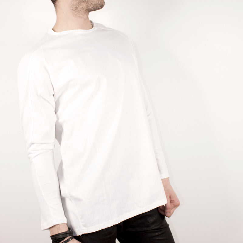 LONG SLEEVE - WHITE TOP