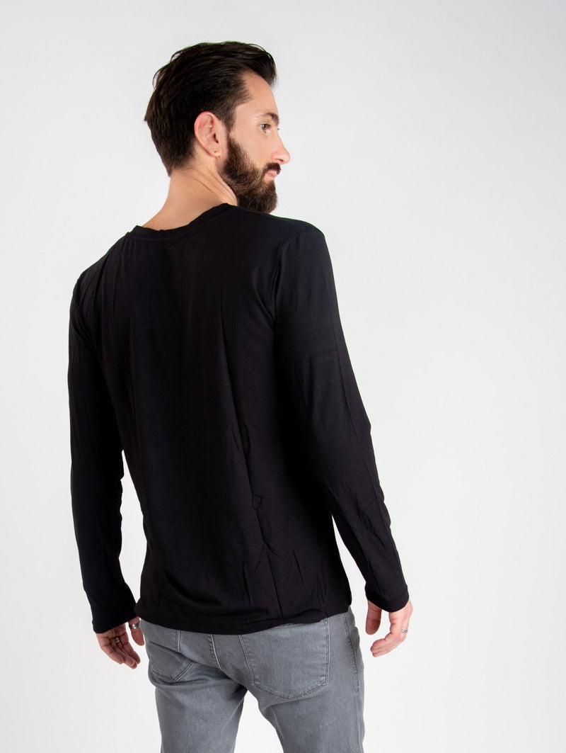 BAMBOO LONG SLEEVE - BLACK