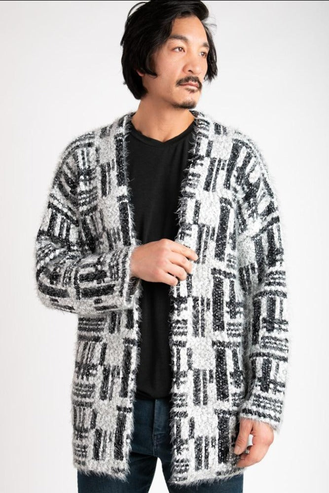 COZY CARDIGAN - PATTERNED