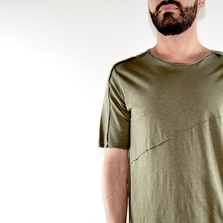 SHORT SLEEVE TOP - CAMO WHITE