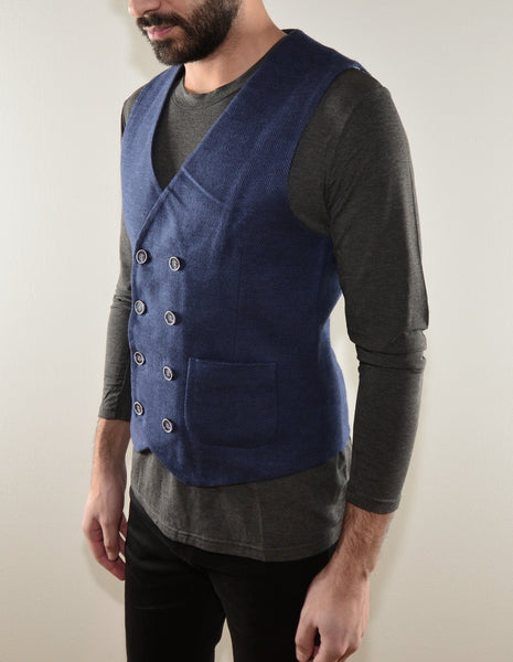 WAISTCOAT - DOUBLE BREASTED
