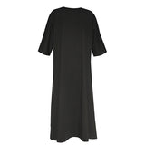 3/4 SLEEVE DRESS - VDR