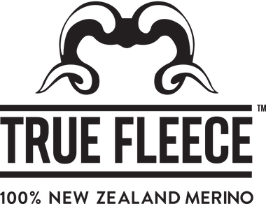True fleece merino logo