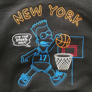 "Quar Bois and Girls Rejoice: ""The Dunk"" Now Available in Embroidered Crewneck"