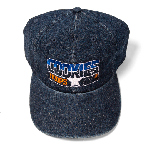 Cookies Hoops Classic Denim Logo Hat