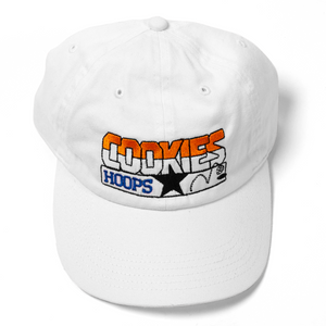 Cookies Hoops Classic White Logo Hat
