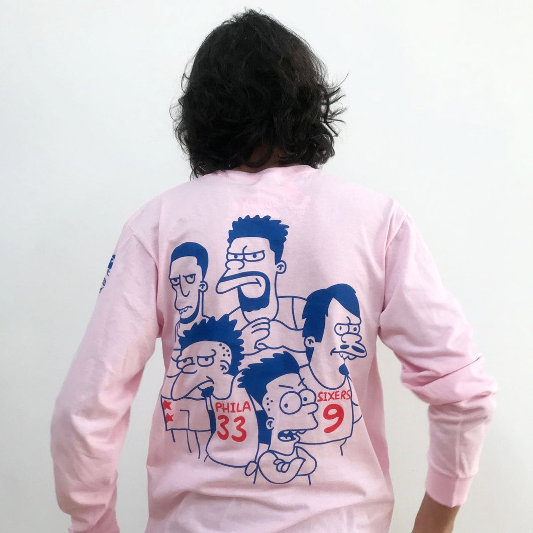 Bullies Big Pink Long-Sleeve