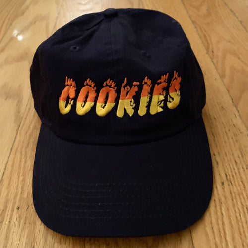 Cookies Flaming Takes Hat