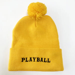 Playball Ski Hat