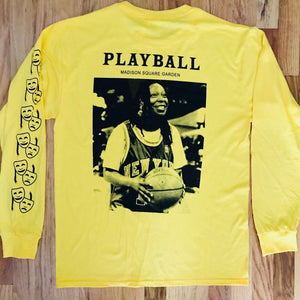Playball Eddie Long-Sleeve Tee