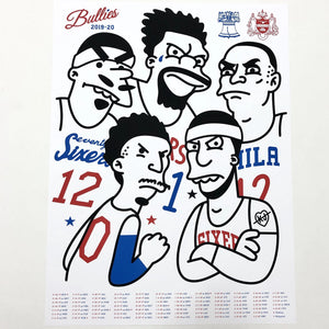 Bullies 2020 Artist Screen Print