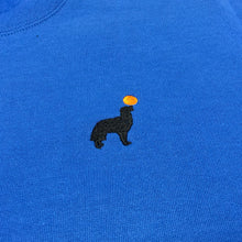 Load image into Gallery viewer, Buddy Embroidered Crewneck (Blue)