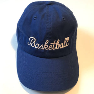 Basketball Royal Blue Hat