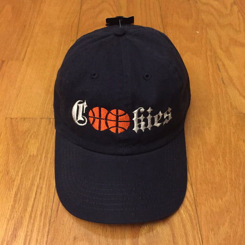 Navy Cookies Hoops Logo Hat