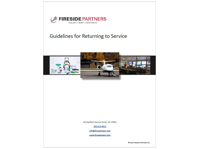 Guidelines for Returning to Service