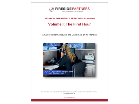 Aviation Emergency Response Planning Volume I: The First Hour