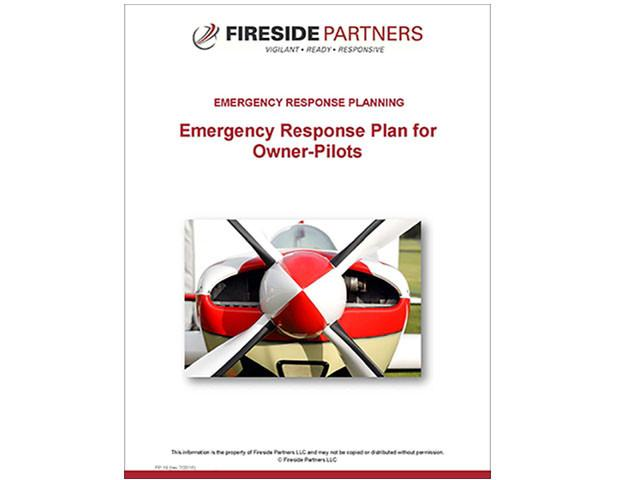 Emergency Response Plan for Owner-Pilots