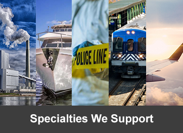 Specialties We Support
