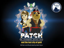 Patch: The Steampunk Pirate Bear