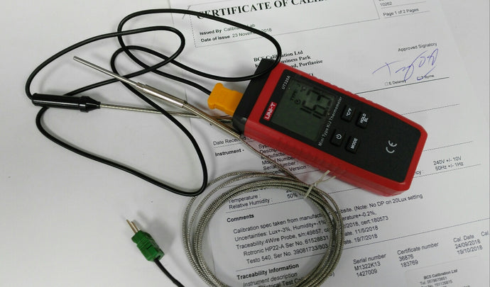 Calibrated thermometer