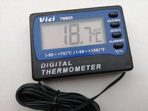 Fridge freezer thermometer