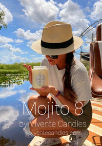 Mojito 8 Candle And The Beauty Of The Everglades In Florida.