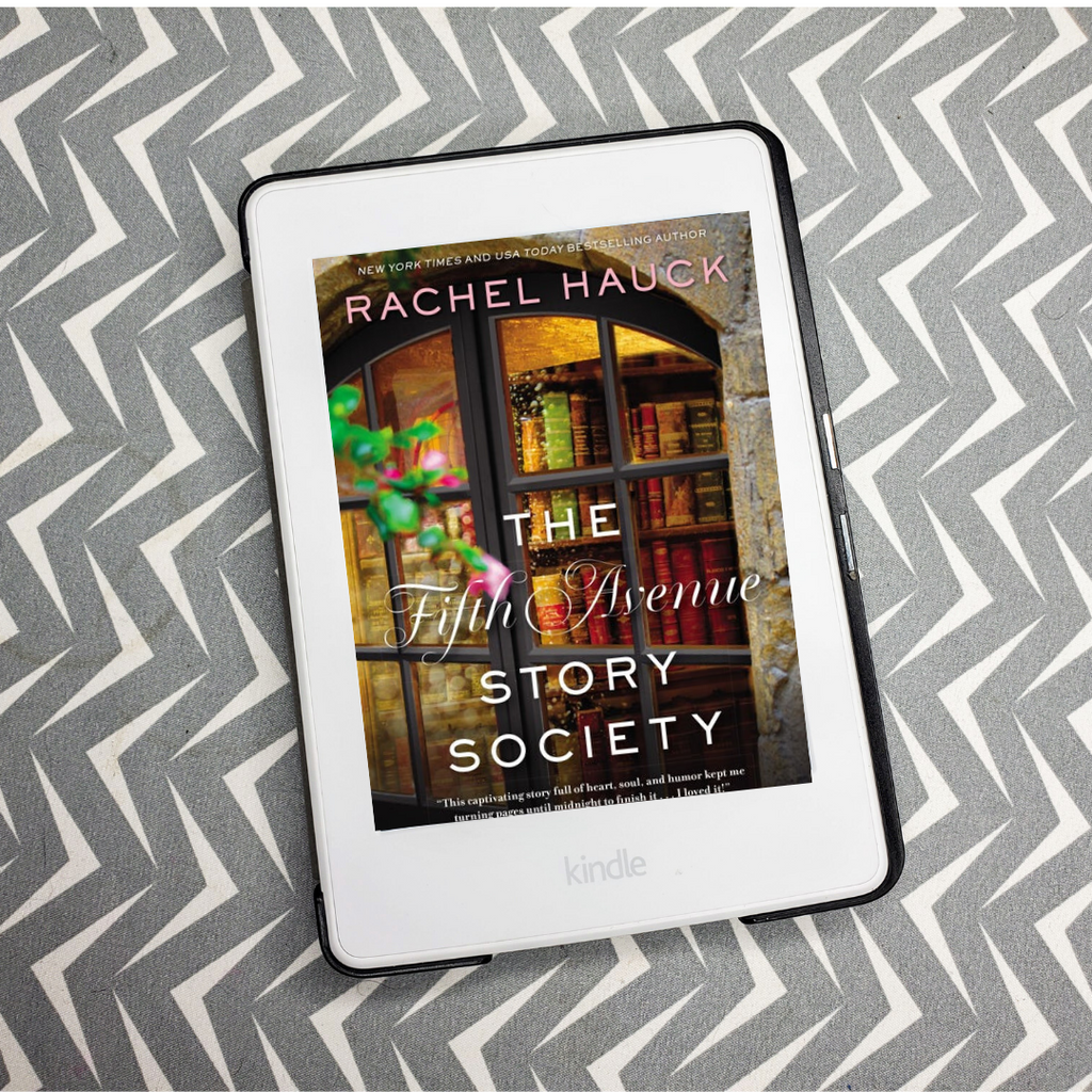 Book Review: The Fifth Avenue Story Society | Rachel Hauck