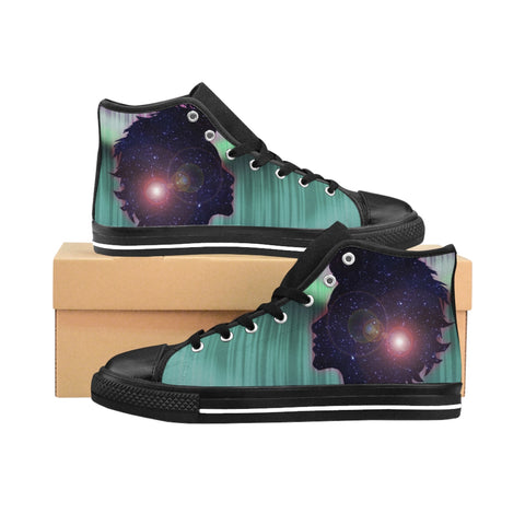 Seventh Sense Women's High-top Sneakers - Zainey Laney