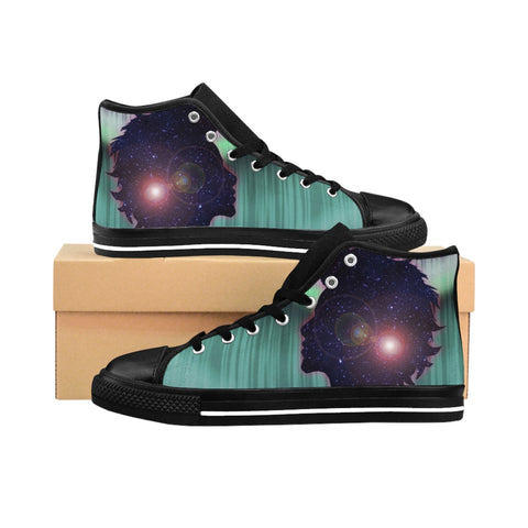 Seventh Sense Men's High-top Sneakers - Zainey Laney