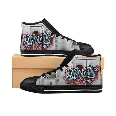 Wannabe Men's High-top Sneakers - Zainey Laney