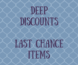 Deeply Discounted and Last Chance Items - Zainey Laney