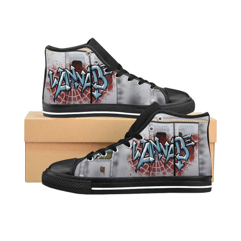 Wannabe Women's High-top Sneakers - Zainey Laney