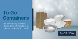 Carry out containers & restaurant paper supplies