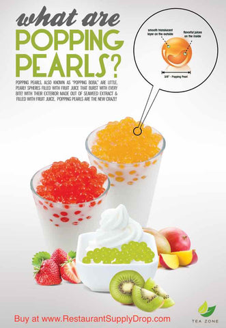 What is Boba?  Popping Pearls