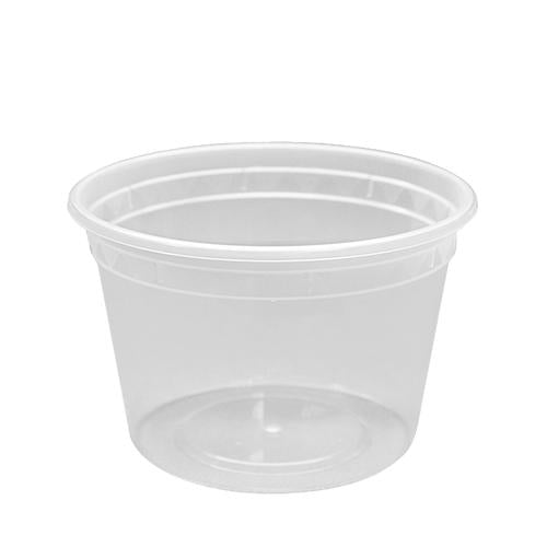 16oz PP Injection Molded Deli Containers & Lids - 240 ct-To-Go Packaging-Karat-Carry Out Supplies