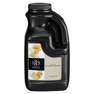 1883 Maison Routin White Chocolate Sauce (67.2 fl oz)-Sauces-1883 Maison Routin-Carry Out Supplies