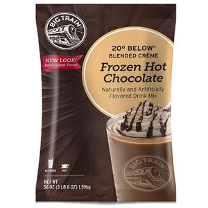 20 Below Frozen Hot Chocolate - Big Train Mix - Bag 3.5 pounds-Powdered Base-Big Train-Carry Out Supplies
