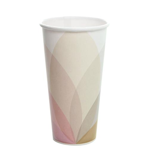 22oz Paper Cold Cups - KOLD (90mm) - 1,000 ct-Cups & Lids-Karat-No Lids-Carry Out Supplies