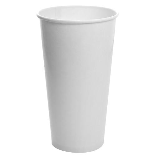 32oz Paper Cold Cup - White (104.5mm) - 600 ct-Cups & Lids-Karat-No Lids-Carry Out Supplies