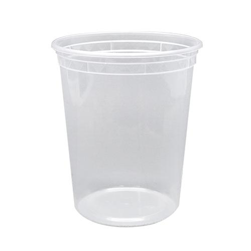 32oz PP Injection Molded Deli Containers & Lids - 240 ct-To-Go Packaging-Karat-Carry Out Supplies
