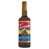 Torani Chocolate Macadamia Nut Syrup - 750 ml Bottle-Restaurant Supply Drop