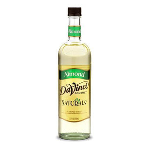 Almond Flavored All Natural DaVinci Syrup Bottle - 700mL-Syrups-DaVinci Gourmet-Carry Out Supplies