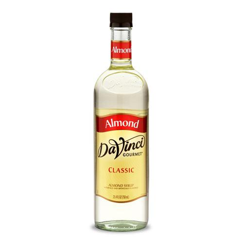 Almond - Orgeat - DaVinci Gourmet Syrup Bottle - 750mL-Syrups-DaVinci Gourmet-Carry Out Supplies