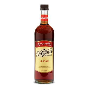 Amaretto DaVinci Syrup Bottle - 750mL-Syrups-DaVinci Gourmet-Carry Out Supplies