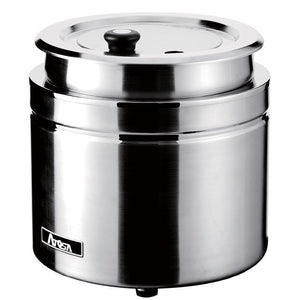 Atosa 9qt Stainless Steel Electric Soup Kettle AT51388-Smallwares-Karat-Carry Out Supplies